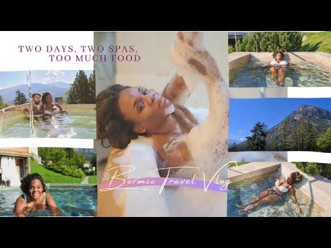#livinginItaly #exploringItaly Travel Vlog Bormio Italy | Two Days, Two Spas and Too Much Food